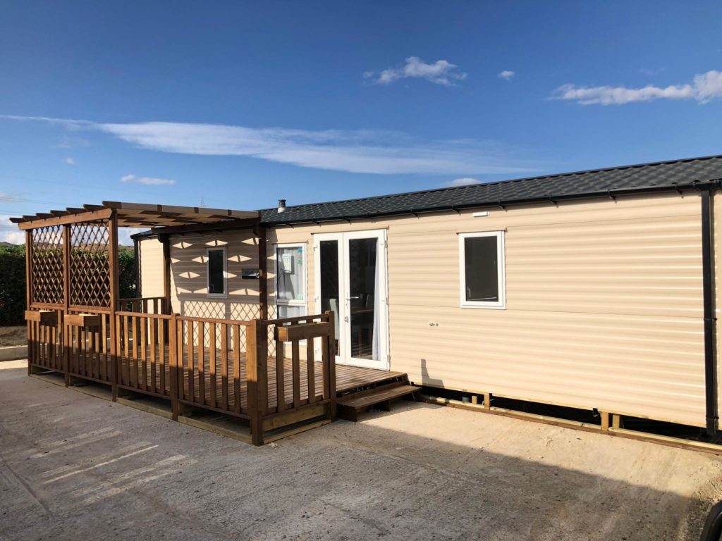 Willerby The Martin Demo Mobile Home Outside View