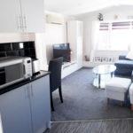 13 Kitchen To Lounge 10 The Rotunda Willerby Manor Saydo Park Costa Del Sol Caravans In The Sun (9)