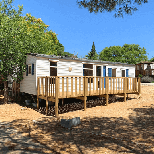 Park Homes mobile home in sunny location