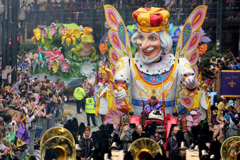 A Mardigras Parade