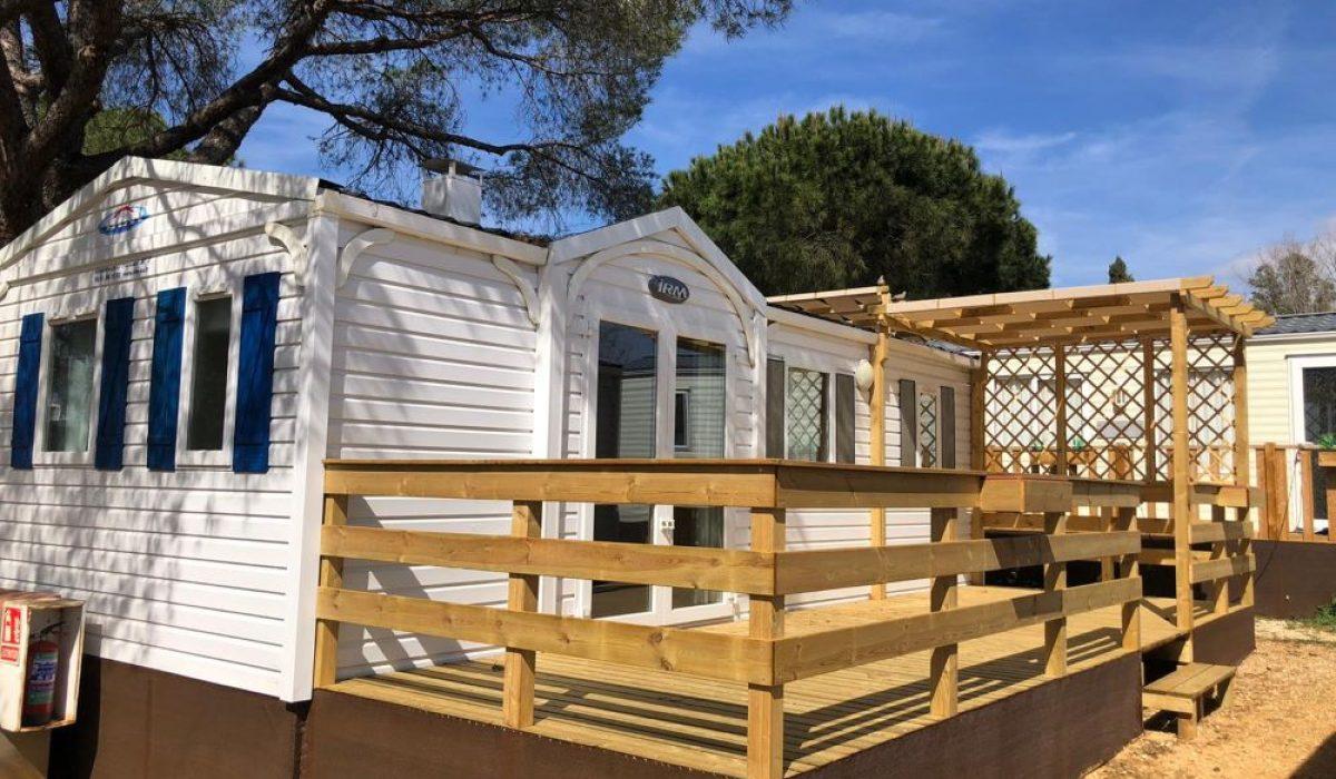 01 Front View Exterior IRM Titania Marbella Buganvilla Caravans In The Sun Mobile Homes For Sale (13)