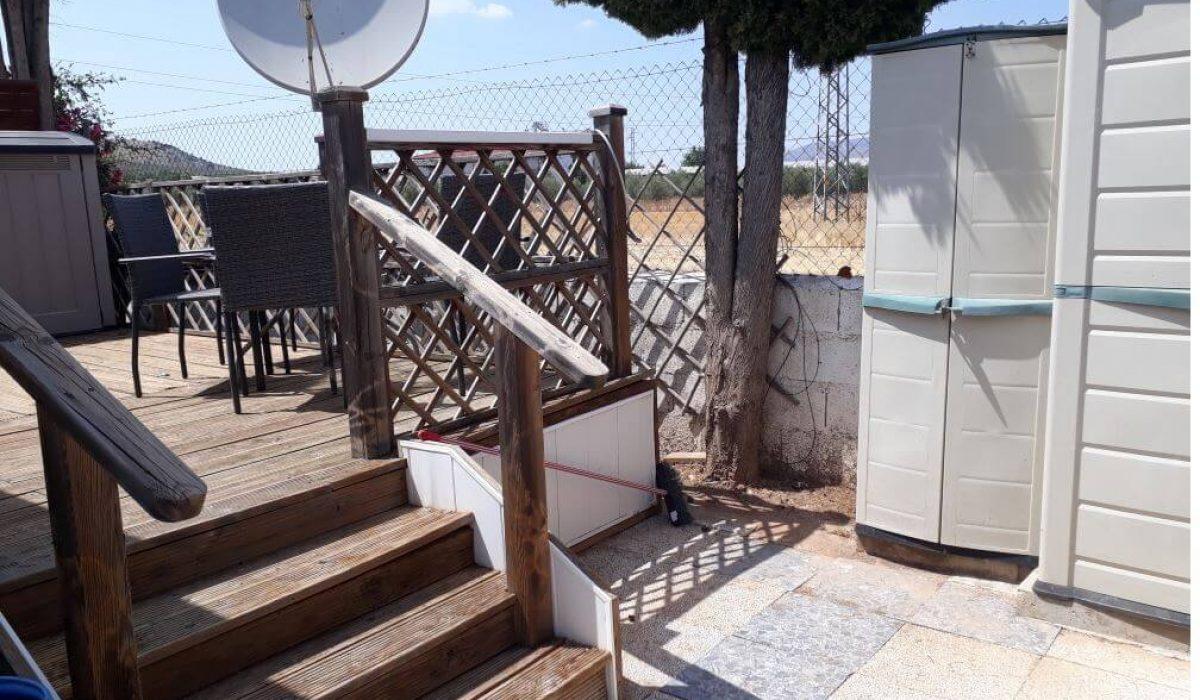 04 Decking 7 Mountain View Saydo Park Costa Del Sol Spain Caravans In The Sun (19)