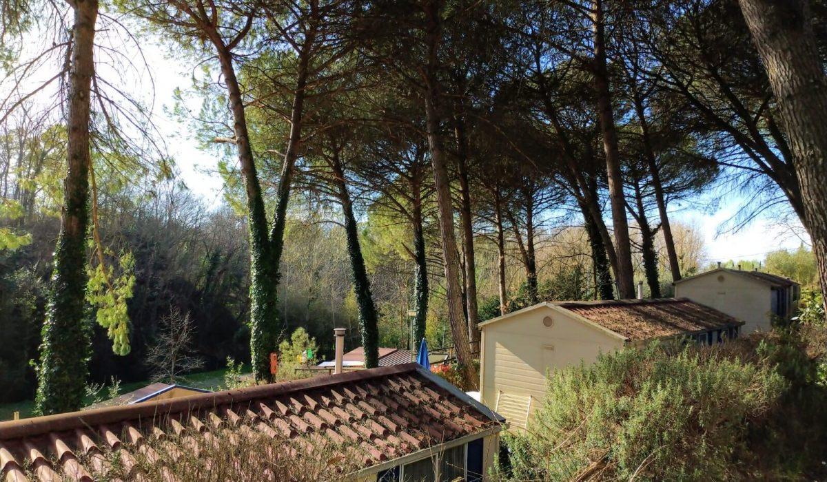 04 Exterior Plot 21 Toscana Holiday Village Tuscany Italy Caravans In The Sun (13)