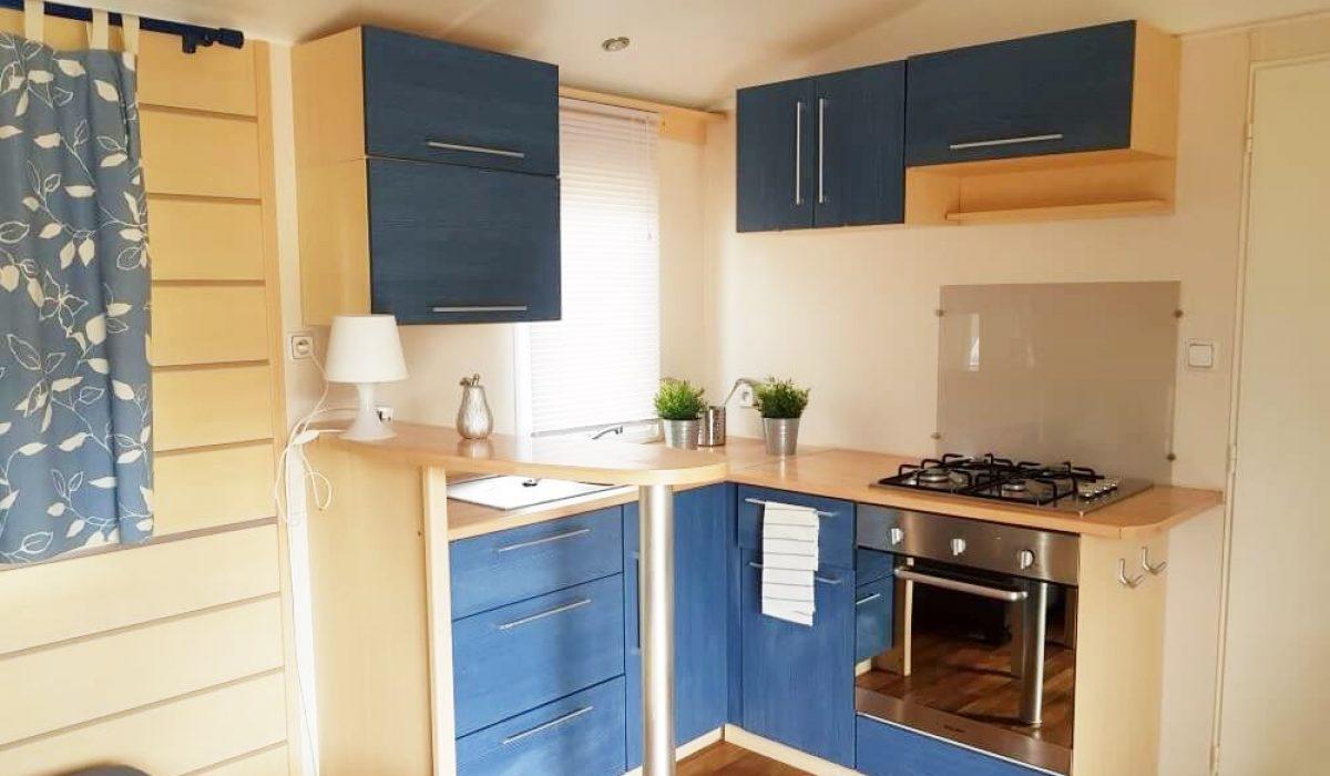 09 Kitchen IRM Titania Marbella Buganvilla Caravans In The Sun Mobile Homes For Sale (15)