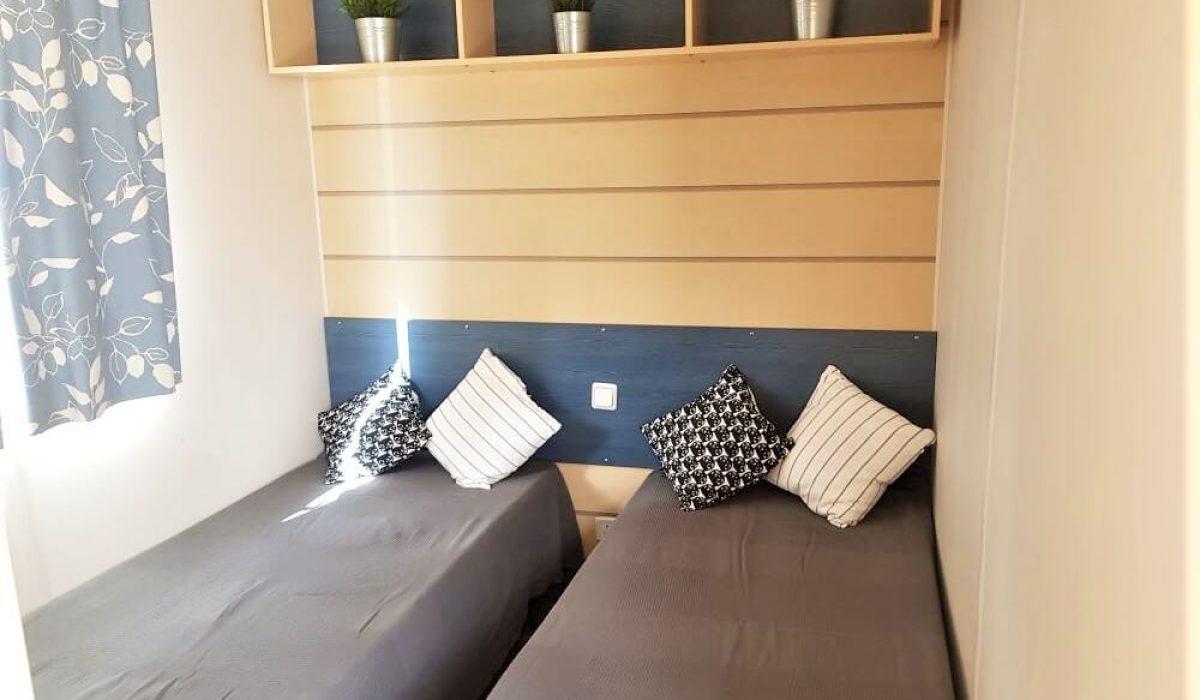 13 Second Bedroom IRM Titania Marbella Buganvilla Caravans In The Sun Mobile Homes For Sale (19)