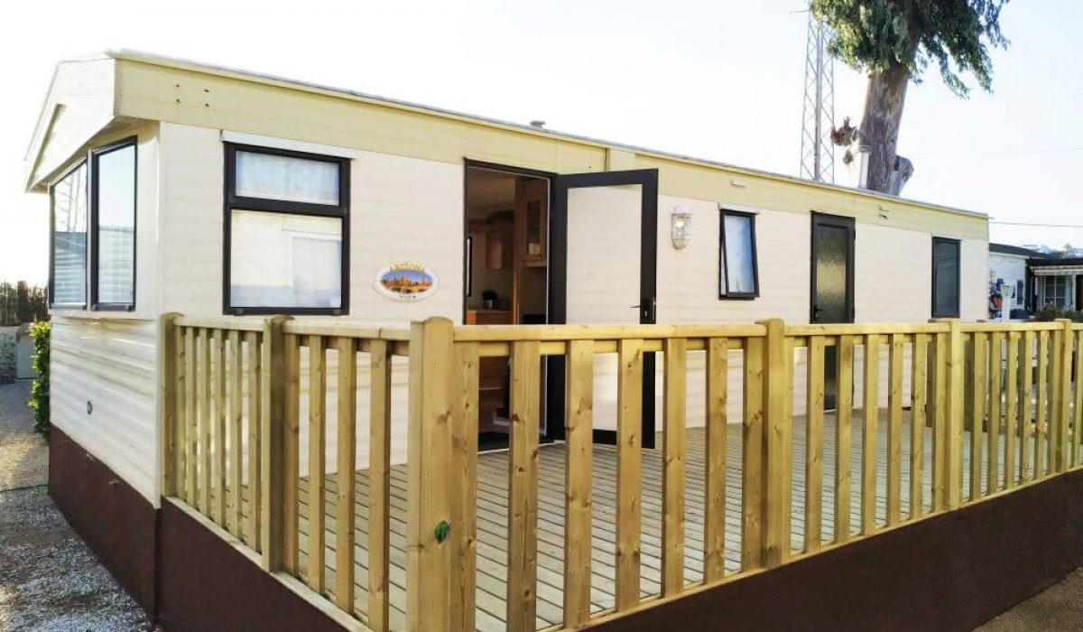 ABI Arizona Mobile Home Caravans In The Sun Front View And Decking