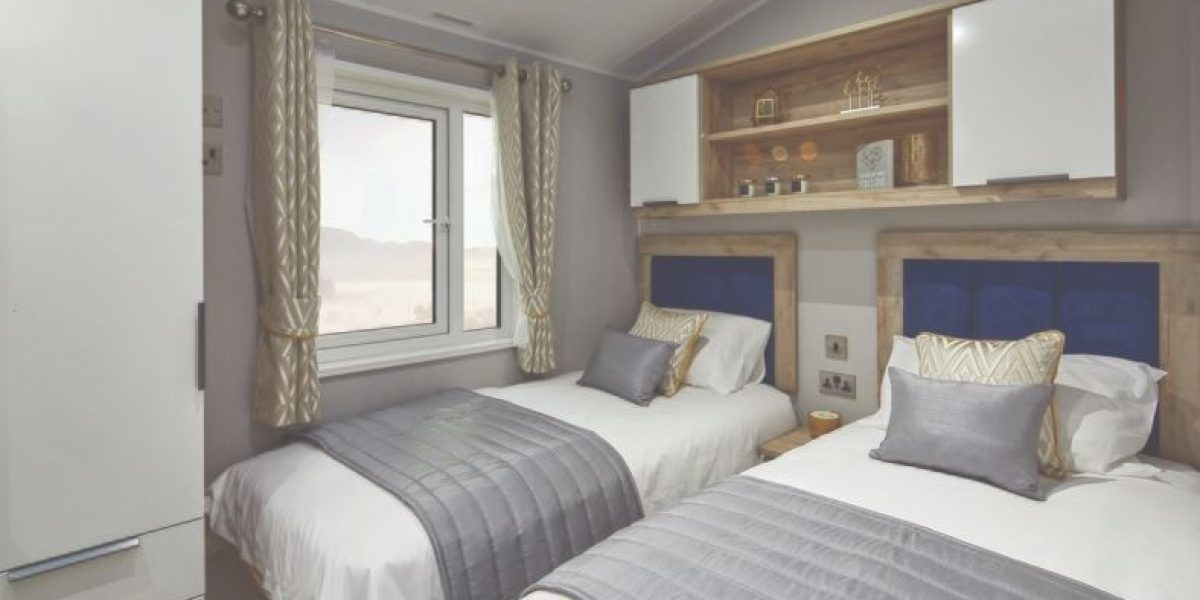 Willerby Vogue Nouveau 2020 Twin Bedroom