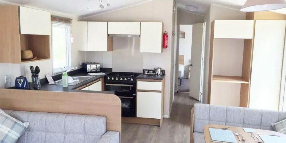 Willerby Westerley 2019 Demo Lounge Diner kitchen