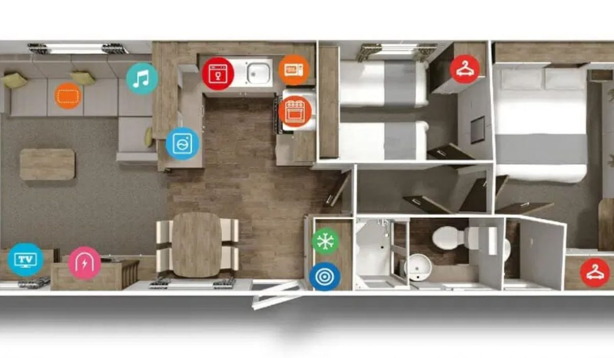 Willerby the Martin 2019 Floorplan