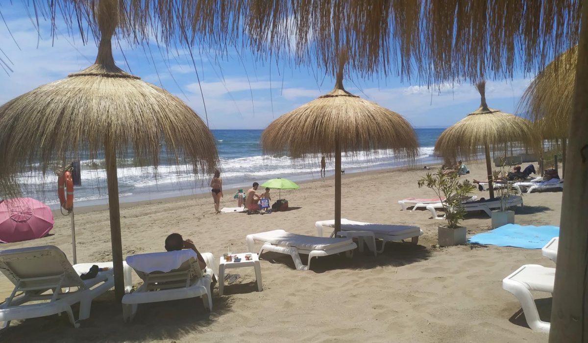 Local Beach Marbella Buganvilla