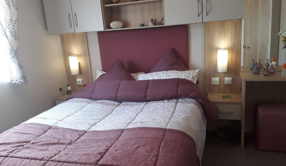 Willerby Brockenhurst 36 Orange Grove Master Bedroom 1